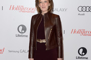 Anne Sweeney Leather Jacket