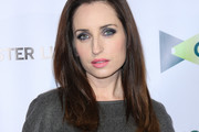 Zoe Lister Jones Long Side Part