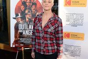 Teri Polo Flannel Shirt