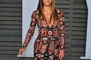 Halle Berry Embroidered Dress