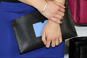 Emma Roberts Leather Clutch