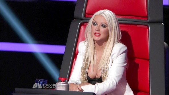 Christina Aguilera Photos Photos - The Voice Season 3 ...