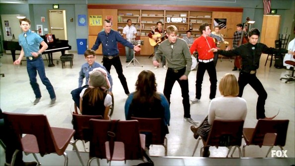 Kevin McHale and Mark Salling Photos Photos - Glee Season 3 Episode
