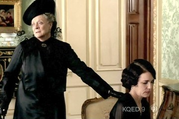 Maggie Smith Downton Abbey Season 3 Episode 5