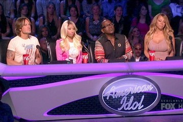 Mariah Carey Nicki Minaj American Idol Season 12 Episode 33