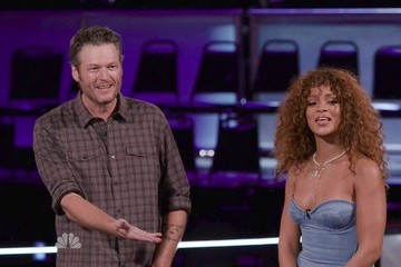 Rihanna The Voice Season 9 Episode 910