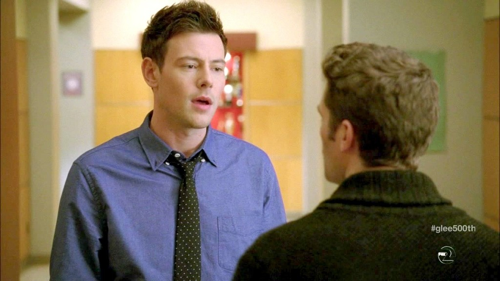 Cory Monteith Photos Photos - Glee Season 4 Episode 15 - Zimbio